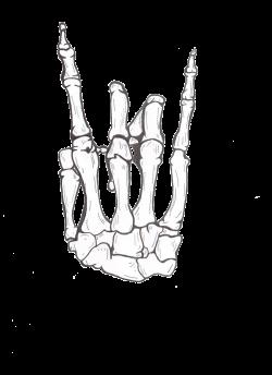 drawing Cool rock Awesome hand Sketch skeleton bones hang loose ...