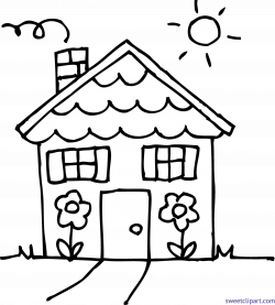 House Line Drawing Clip Art at GetDrawings.com | Free for personal ...