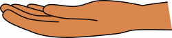 Clipart - Open Hand (svg-cleaned)