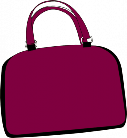 free purse clip art images | Purple Bag clip art - vector clip art ...