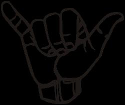 Sign language Y - Shaka sign - Wikipedia, the free encyclopedia ...