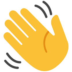 28+ Collection of Hand Waving Goodbye Clipart | High quality, free ...
