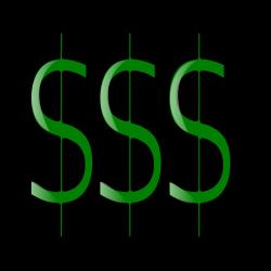 Money | Free Stock Photo | Illustration of dollar signs | # 15961