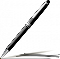 Pen Clipart Black And White | Clipart Panda - Free Clipart Images
