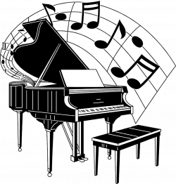 28+ Collection of Piano Notes Clipart | High quality, free cliparts ...