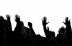 Silhouette Crowd at GetDrawings.com | Free for personal use ...