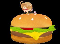 Chibi! America ~ B I G burger by IggyAlfi2319 on DeviantArt