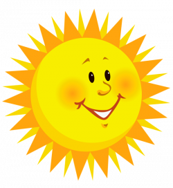 happy sun clip art transparent smiling sun png clipart picture ...