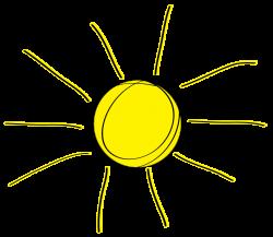 Sunshine half sun clipart 2 - Clipartix