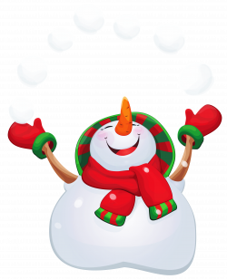 Transparent Happy Snowman PNG Clipart | Gallery Yopriceville - High ...
