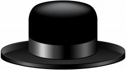 Black Hat Transparent Clip Art Image | Gallery Yopriceville - High ...