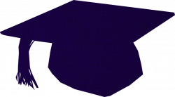 Graduation Cap Blue Clipart (64+)