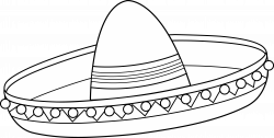 Sombrero Coloring Page Free Coloring Pages Download | Xsibe maracas ...