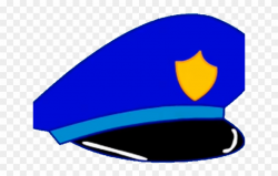 Cartoon Police Hat - Police Hat Clipart, HD Png Download ...