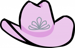 Pink Cowgirl Hat | Club Penguin Rewritten Wiki | FANDOM powered by Wikia