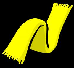Yellow Scarf | Club Penguin Rewritten Wiki | FANDOM powered by Wikia