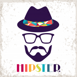 Hipster Retro style Clip art - Uncle Avatar 2083*2083 transprent Png ...
