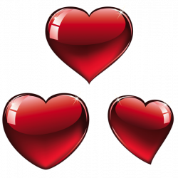 Red Hearts PNG Clipart | Valentines clip | Pinterest | Valentine ...