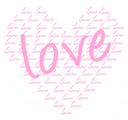 Soft Pink Heart of Love PNG Clipart | Gallery Yopriceville - High ...