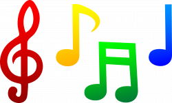 Music Notes Heart Clipart | Clipart Panda - Free Clipart Images