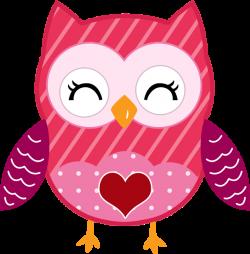 owl heart girlyfreetoedit
