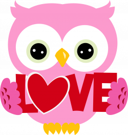 28+ Collection of Cute Valentines Day Owl Clipart | High quality ...