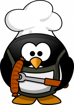 Free Chef Penguin High Resolution Clip Art | All Free Picture ...