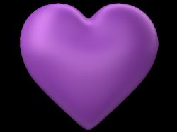 3d-Purple-Love-Heart-Transparent-Background.png?1358933078   Purple ...