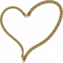 Clipart - Rope heart