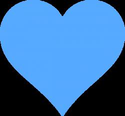 blue-heart-clipart-public-domain-music-heart.png (600×556) | *(Karla ...