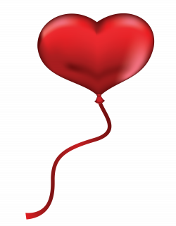 Red Heart Balloon PNG Clipart Picture   Gallery Yopriceville - High ...
