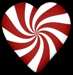 Lacarolita_X-mas Candy Cane candy heart.png | Candy canes, Clip art ...
