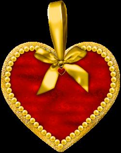 Heart with Bow PNG Clipart | Ramen | Pinterest | Clip art, Christmas ...