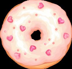 Cute Heart Doughnut by Rosemoji on DeviantArt