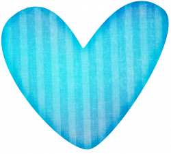 blue-stripped-heart-clipart | Sand Hill School at CHC
