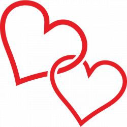 clip art hearts | Clip Art Two Hearts | Clipart Panda - Free Clipart ...