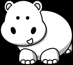 Side Hippo Clip Art at Clker.com - vector clip art online, royalty ...