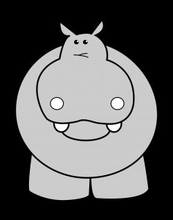 Hippo - Page 3 of 6 - ClipartBlack.com