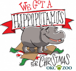 OKC Zoo welcomes new hippopotamus just in time for Christmas | Red ...