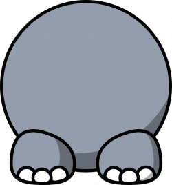 Hippo Body Clip Art at Clker.com - vector clip art online, royalty ...