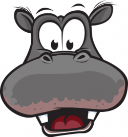 Hippo Head No Mouth Clipart - Free Clip Art Images - Cliparts.co