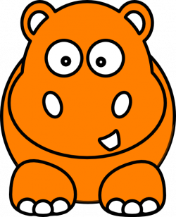 Hippo B Clip Art at Clker.com - vector clip art online ...
