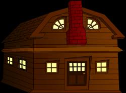 Clipart - Halloween Horror House Small