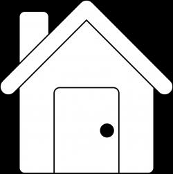 Clipart - House Line Art