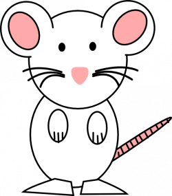 Mouse Pink Clip Art at Clker.com - vector clip art online, royalty ...