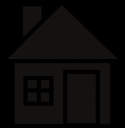 House Silhouette Clip Art at Clker.com - vector clip art online ...