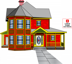 House Clip Art at Clker.com - vector clip art online, royalty free ...