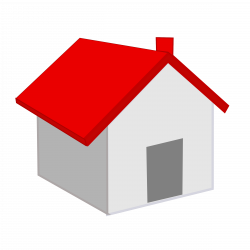 Red Roof Home Icon transparent PNG - StickPNG