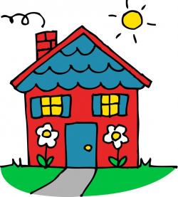 34 best Houses Clipart images on Pinterest | Homes, House beautiful ...