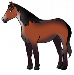 United States Clip Art by Phillip Martin, State Honorary Equine of ...
